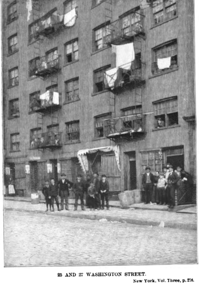 Syrian Tenement at 25_27 Washington 1897