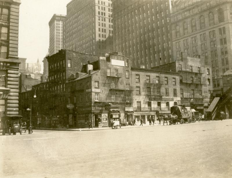 Washington St and Battery PlNYPL 1923