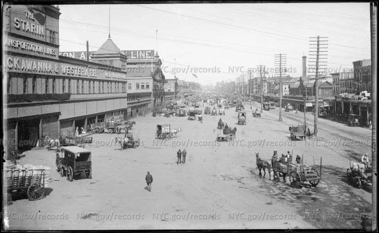 West Street looking north, ca. 1900