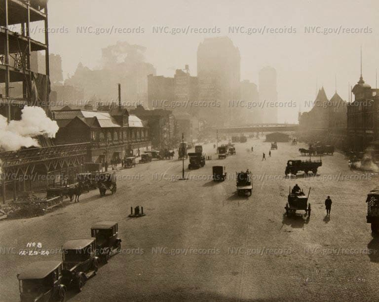 West Street looking south, 1924